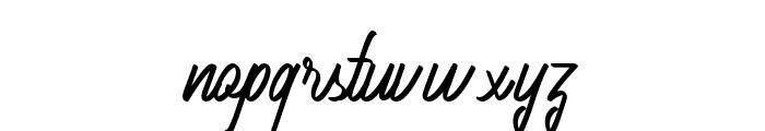 AmeliaNature-Regular Font LOWERCASE