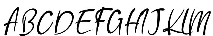 Amelku Font UPPERCASE