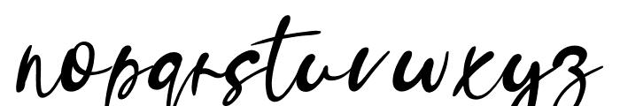 Amelku Font LOWERCASE