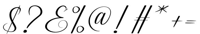 Ameralda Font OTHER CHARS