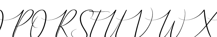 Ameralda Font UPPERCASE