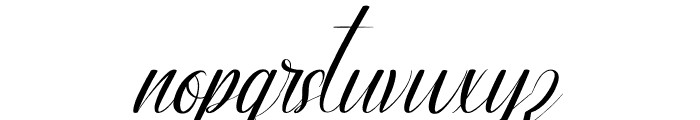 Ameralda Font LOWERCASE