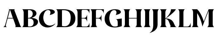 AmidalaFont-Regular Font UPPERCASE