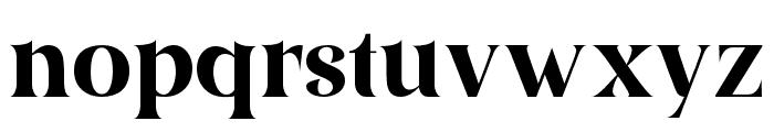 AmidalaFont-Regular Font LOWERCASE