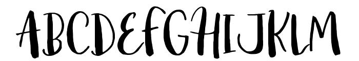 Amist Font UPPERCASE