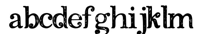 Amkifuny Font LOWERCASE