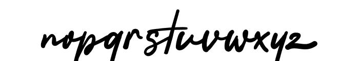 Ammaliya Font LOWERCASE