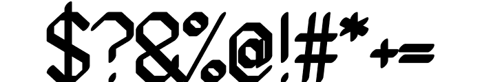 Ammius regular Font OTHER CHARS