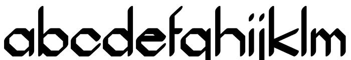 Ammius regular Font LOWERCASE