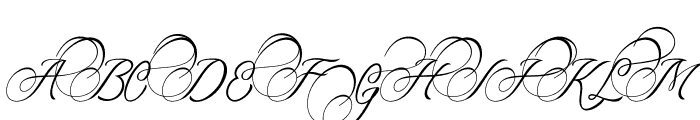 Amorista Font UPPERCASE