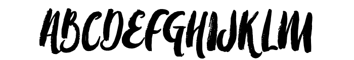 Amulhed Font UPPERCASE