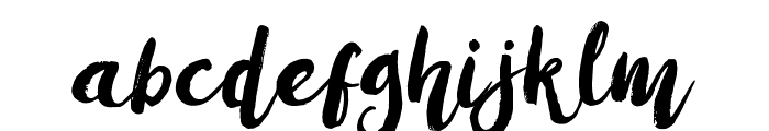 Amulhed Font LOWERCASE