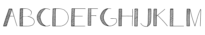 Analeigh Font UPPERCASE