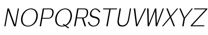 Anastasia light-italic Font UPPERCASE