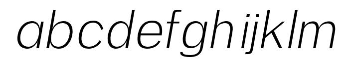 Anastasia light-italic Font LOWERCASE
