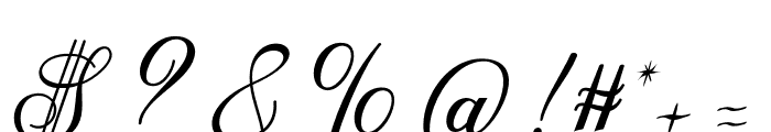 Anatomia Font OTHER CHARS