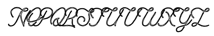 Anchorage Script Press Font UPPERCASE