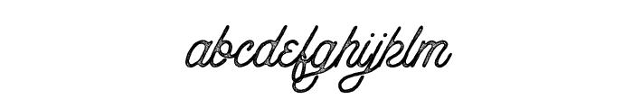 Anchorage Script Press Font LOWERCASE