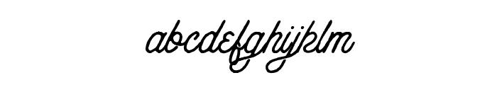 Anchorage Script Rough Font LOWERCASE
