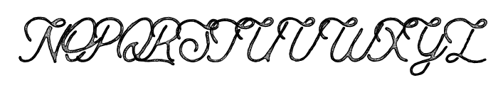 AnchorageScript-Press Font UPPERCASE