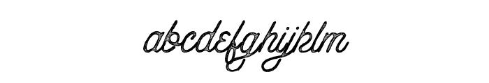 AnchorageScript-Press Font LOWERCASE