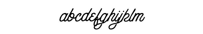 AnchorageScript-Rough Font LOWERCASE
