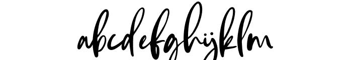 Andaretta Font LOWERCASE