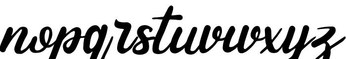 Andhewi Font LOWERCASE