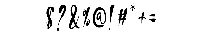 Andika Macco Font OTHER CHARS