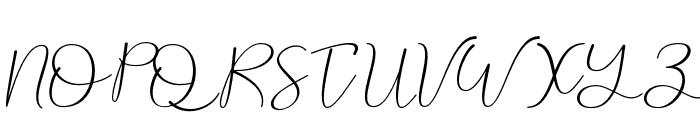 Andira Font UPPERCASE