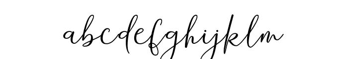Andira Font LOWERCASE