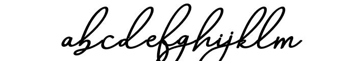 AneishaScriptBolditalic Font LOWERCASE