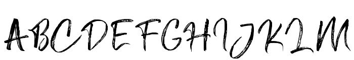 AngelBoos Font UPPERCASE
