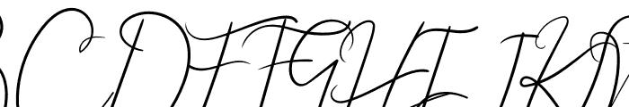 Angela Aiglory Font UPPERCASE