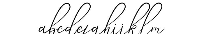Angela Aiglory Font LOWERCASE