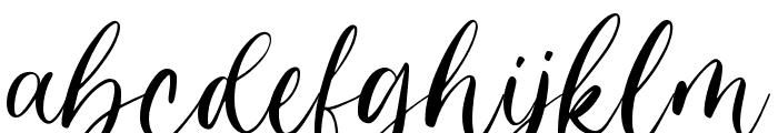 Angela Dream Font LOWERCASE