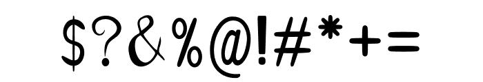 Angela Happy Font OTHER CHARS