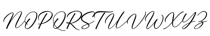 Angela Love Font UPPERCASE