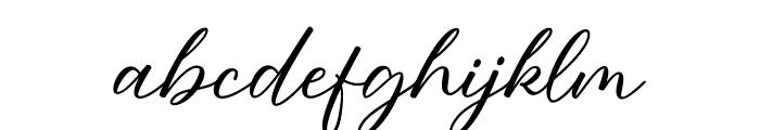 Angela Love Font LOWERCASE