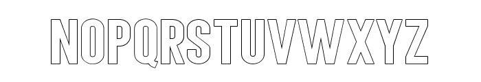 AngelaLoveSansOutline Font LOWERCASE