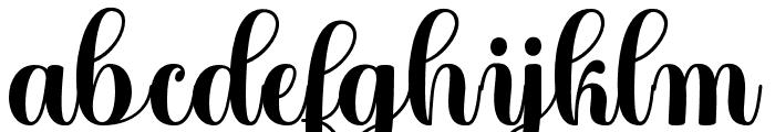 Angela Font LOWERCASE