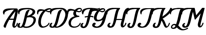 Angeland Font UPPERCASE