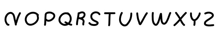 Angle Font UPPERCASE