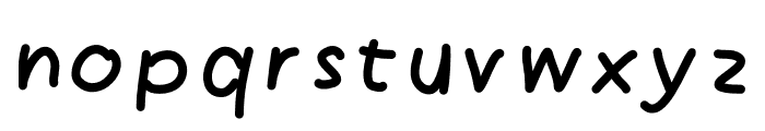 Angle Font LOWERCASE