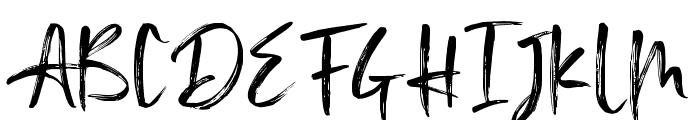 Anglerfish Font UPPERCASE