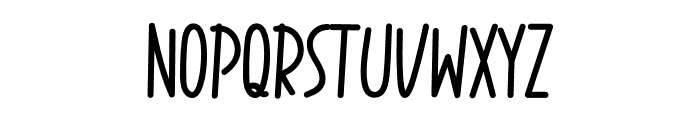 Animal Day Font UPPERCASE