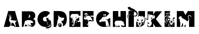 Animal Kingdom Regular Font UPPERCASE