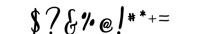AnnabelleScript Font OTHER CHARS