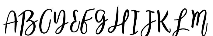 AnnabelleScript Font UPPERCASE