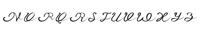 Anniversa Font UPPERCASE